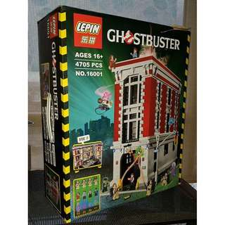 LEPIN 16001 GHOSTBUSTERS Firehouse HQ  Lego-compatible