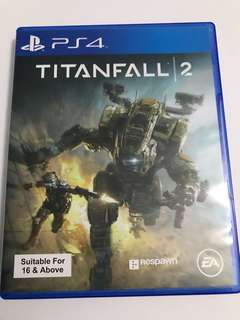 Titanfall 2 PS4 Game Disc