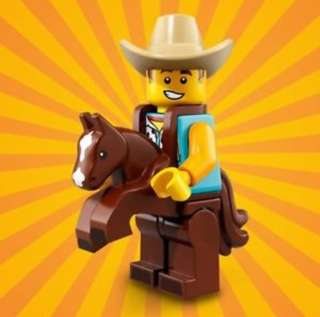 Lego Minifigures - Cowboy Suit Guy (Series 18)