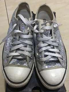 Converse Silver Sequins Chucks
