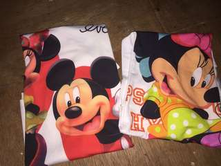 For 2 mickey shirts
