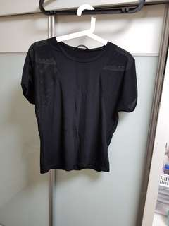 OSMOSE Black Crop Top
