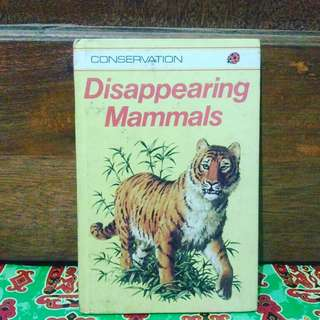 Disappearing mammals