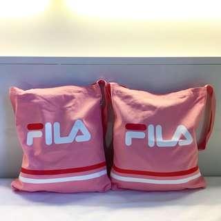 Fila 2way tote bag 橫間版