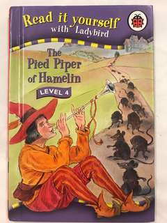 Pipe piper of Hamelin Read it yourself with ladybird