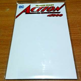 ACTION COMICS #1000 (White Cover Variant)