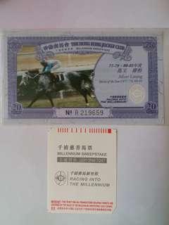 香港賽馬會千禧慈善馬票歷界馬王系列-馬王祿怡Horse of the Year Series