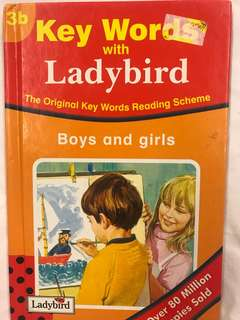Peter and Jane Keywords with Ladybird