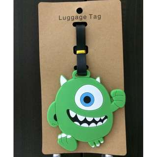 ⭐️[NEW] Monster Inc Mike Wazowski Luggage Tag