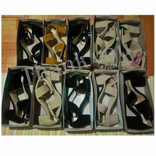 BLOCK HEELS! MADE TO ORDER