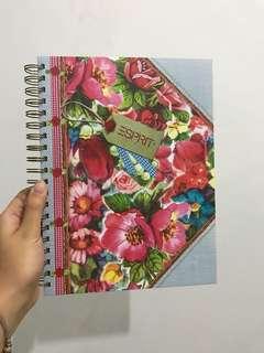 Notebook bunga