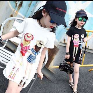 NEW ARRIVAL....ON HAND ITEMS  💞Girl's tshirt dress💞
