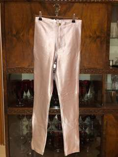 Brand new American Apparel silver hot pants size S