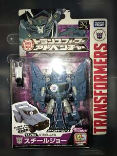 TakaraTomy Transformers Adventure TAV-04 Steeljaw