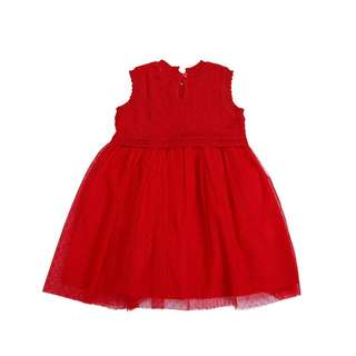 Red Dress Little Girl E16