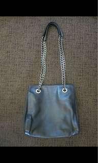 PRADA leather chain bag