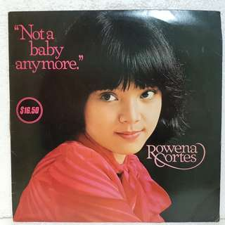 Reserved: Rowena Cortes - Not A Baby Anymore Vinyl Record