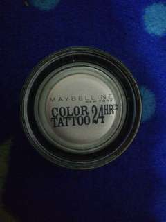 Maybelline Color Tattoo Silver