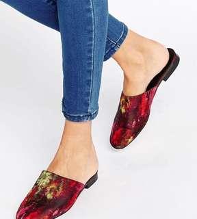 🚚 Asos 復古繡花鞋