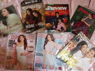 Nadine Lustre/JaDine Magazines