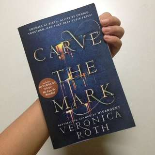 Carve the Mark by Veronica Roth (p.2017)