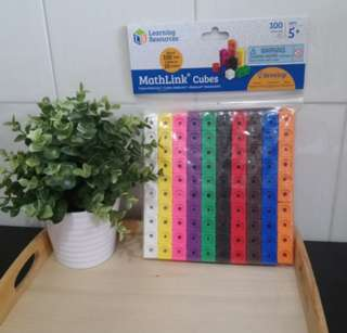 [FreeMail] Learning Resources Mathlink Cubes $20