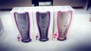 🚚 麥當勞2013  可口可樂玻璃杯-櫻桃🍒紅