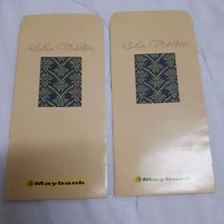 Angpao Sampul Duit Raya Maybank Vintage