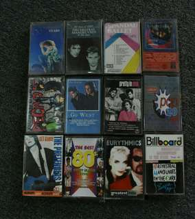 Assorted Foreign Cassettes