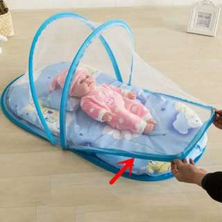 Baby bed anti mosquito with lullaby