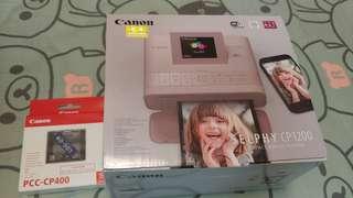 100% 全新 Canon Selphy CP1200 相片打印機 (附送信用卡尺寸紙匣)