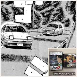 Initial D Cartoon (Japanese w/ English & Chinese Sub)