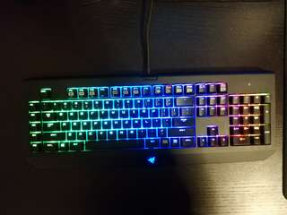 Razer Blackwidow Chroma (Green Switch)