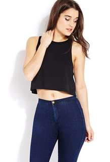 Pull & Bear Cropped Muscle Tank