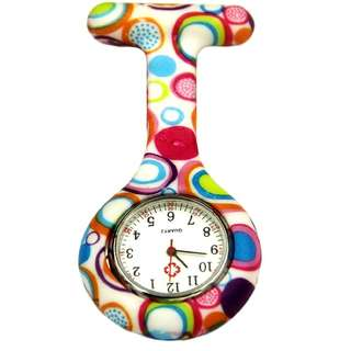🚛🚛 FREE MAILING 🚛🚛 Clip-on Fob Quartz Brooch Hanging Nurse Watch Fashion & Casual Men Women Unisex Rubber Silicone Pocket Watch relogio Hour Clock