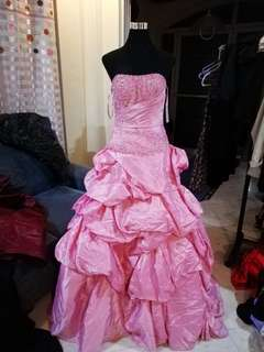 Pink Ball Gown/Evening Gown/Long Gown
