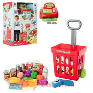 Mainan Anak Perempuan My Mini Supermarket Dus 661-84
