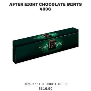 AFTER EIGHT CHOCOLATE MINTS 400G