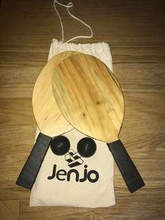 New Jenjo Wooden Frescobol Set