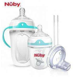 Nuby Comfort Silicone Newborn Starter Set