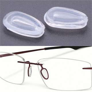 SILICON NOSE PAD OAKLEY RAYBAN SPECTACLES GLASSES $2.50/PAIR INCLUSIVE POSTAGE - ALL SCREWS AVAILABLE