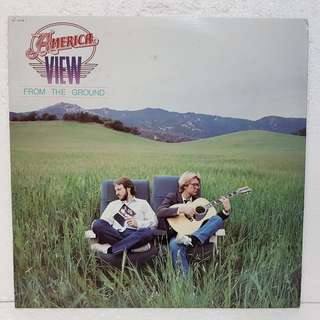 America - View From The Ground Vinyl Record