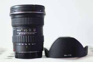 Tokina 11-16mm f/2.8 (IF) DX for Canon mount
