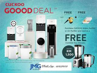 Cuckoo water purifier