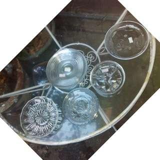 Crystal Saucers