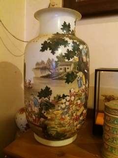 百子陶瓷花瓶