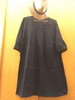 🚚 麻紗長版衣M(日本)