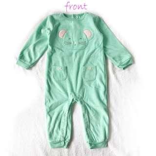 Carter's Fleece Pajamas Jumpsuit