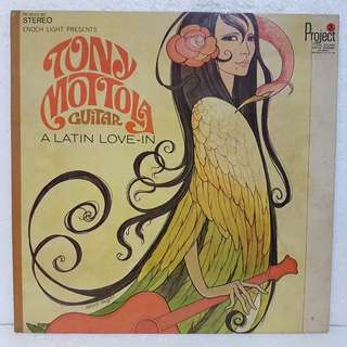 Reserved: Tony Mottola Guitar - A Latin Love-In  Vinyl Record