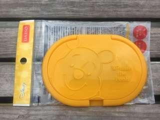 大創 維尼濕紙巾盒蓋 日本製